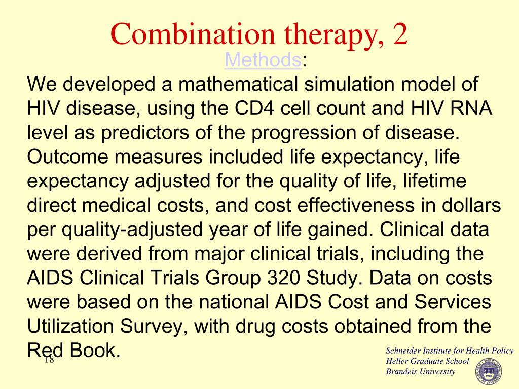 Combination therapy, 2