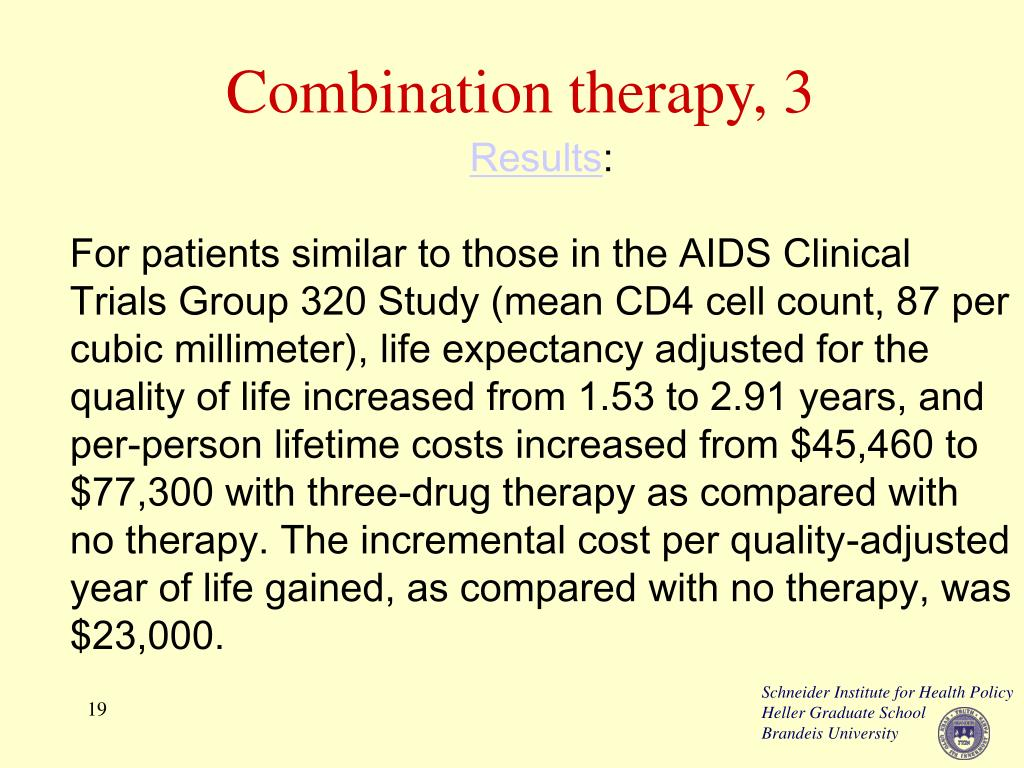 Combination therapy, 3