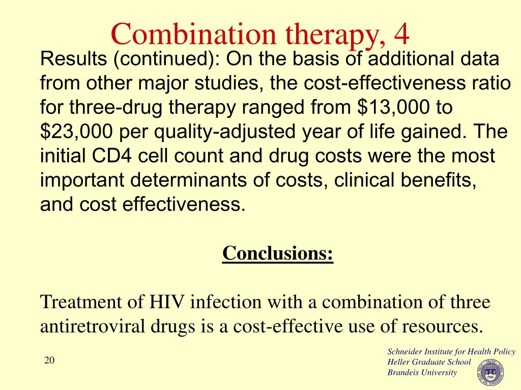 Combination therapy, 4