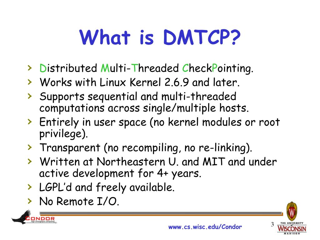 What is DMTCP?