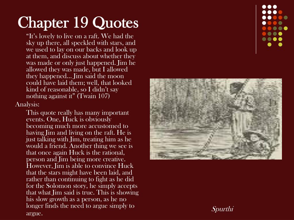 Chapter 19 Quotes