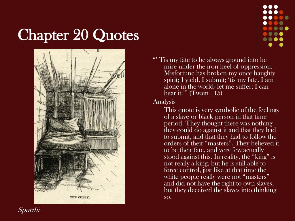 Chapter 20 Quotes