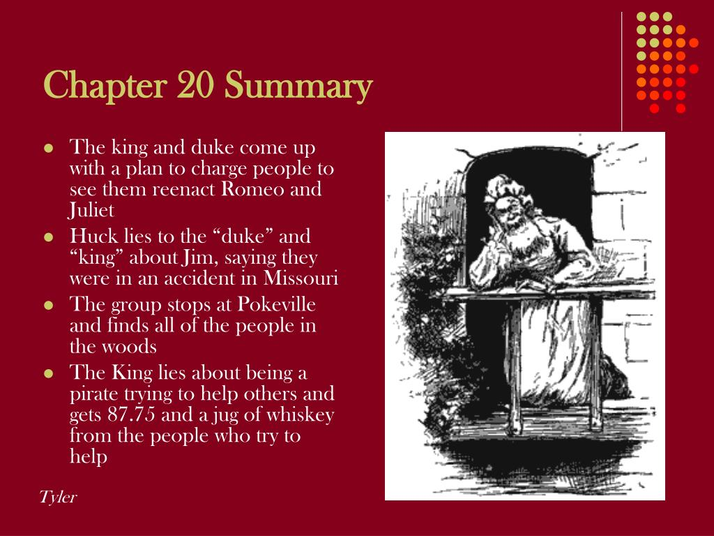 Chapter 20 Summary