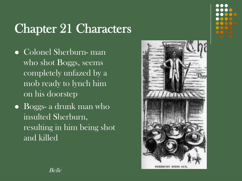 Chapter 21 Characters