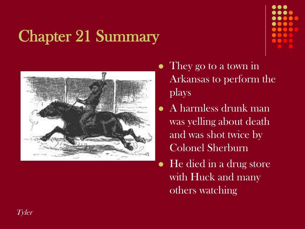 Chapter 21 Summary