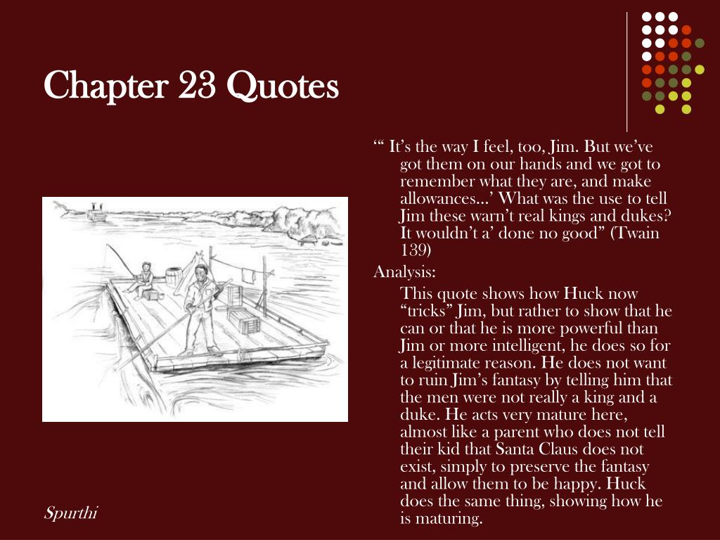 Chapter 23 Quotes