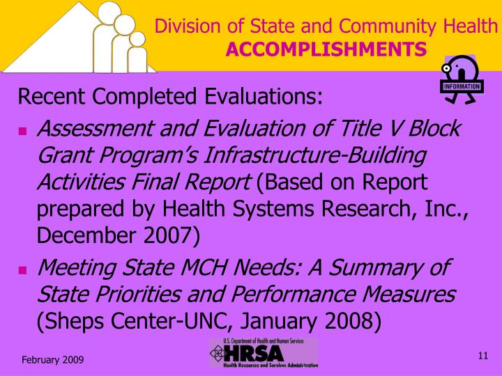 Division of State and Community Health