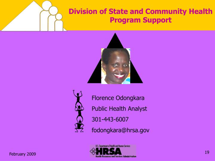 Division of State and Community Health Program Support
