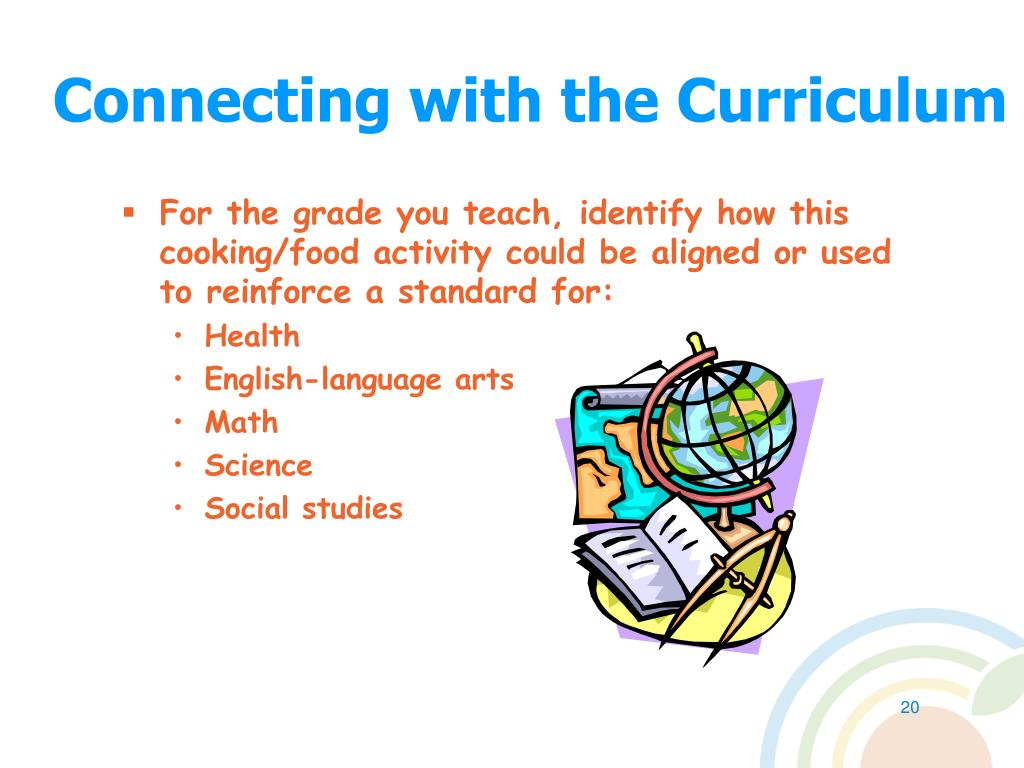 Connecting with the Curriculum