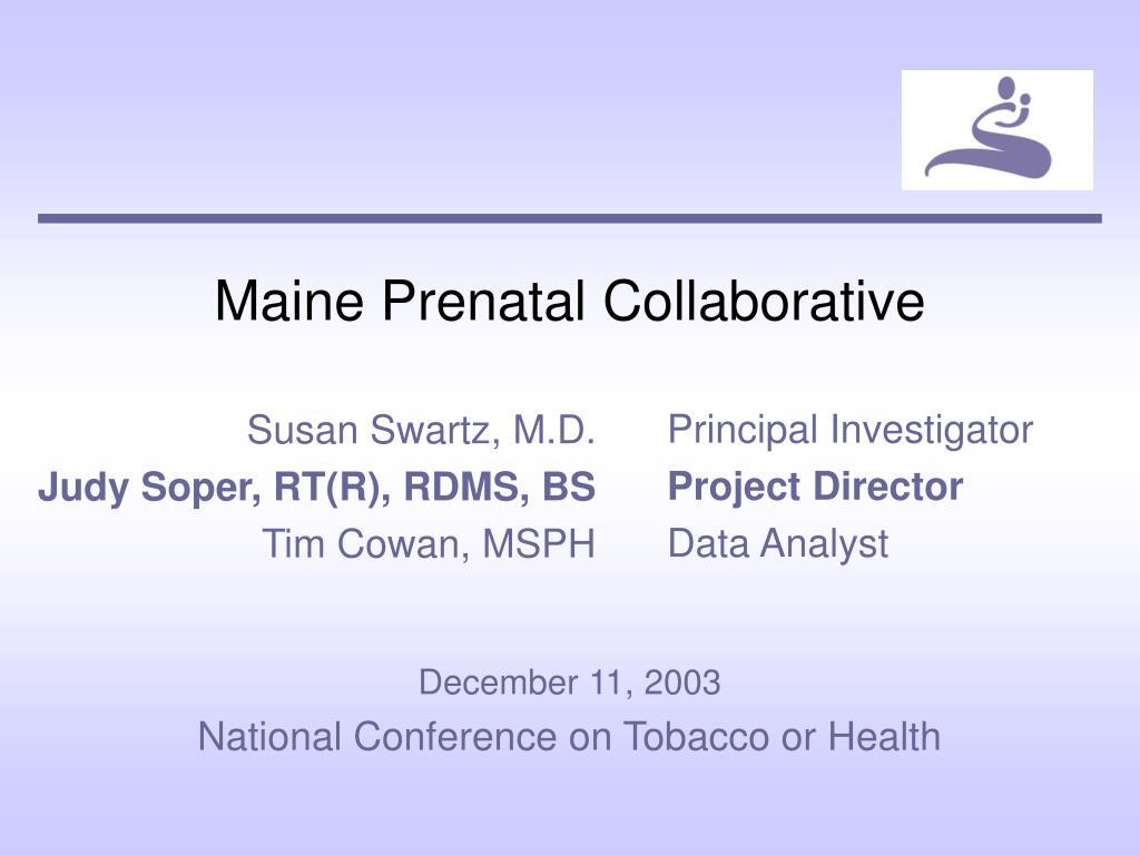 Maine Prenatal Collaborative