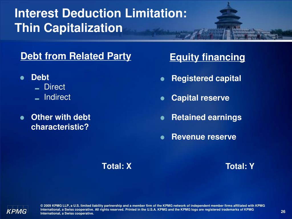 Debt from Related Party