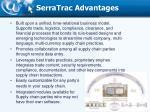 serratrac advantages