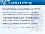 what is serratrac