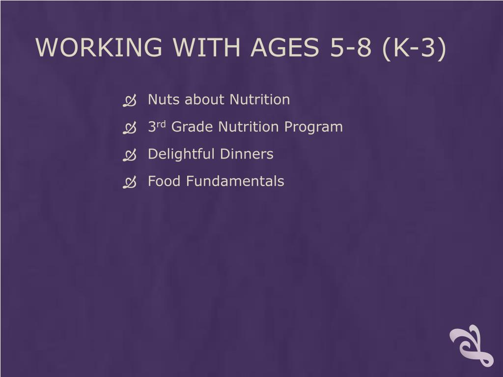 Working with ages 5-8 (k-3)