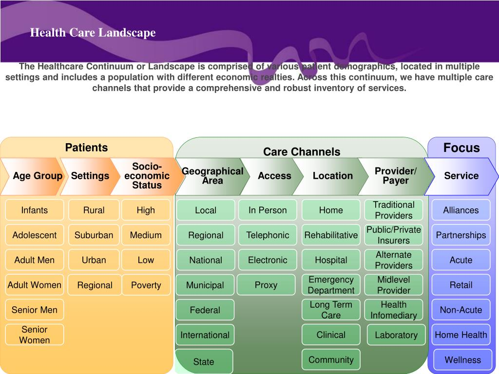 Health Care Landscape