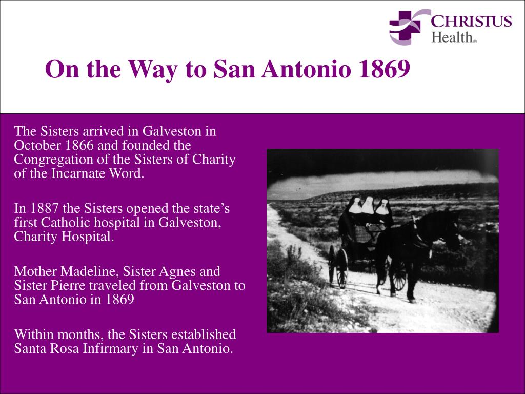 On the Way to San Antonio 1869