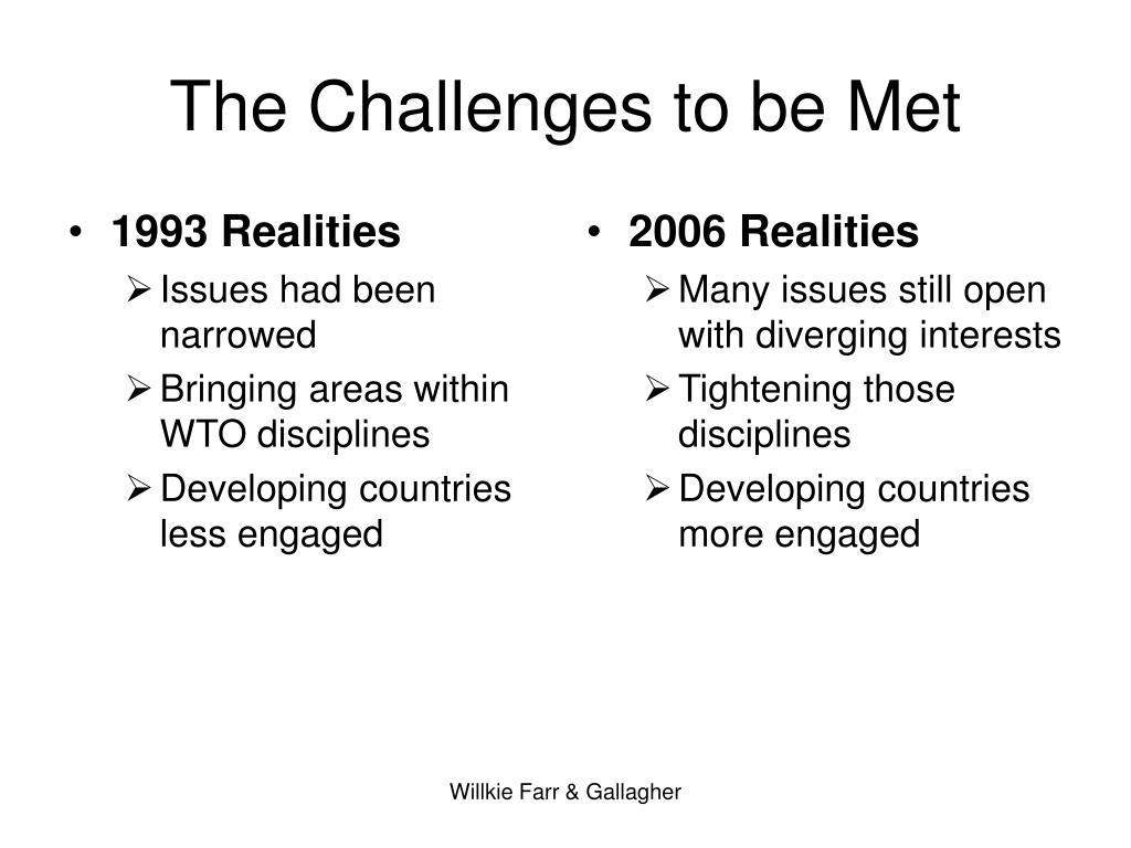 1993 Realities
