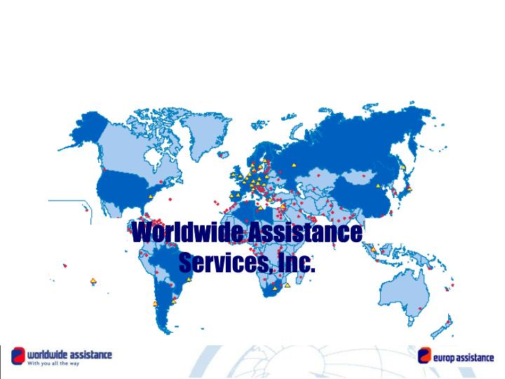 A worldwide assistance leader
