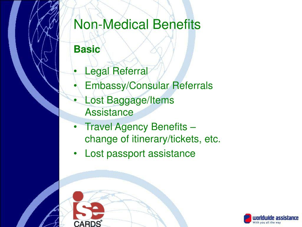 Non-Medical Benefits