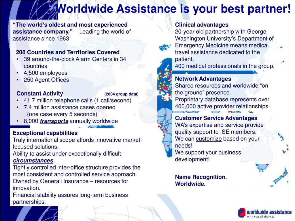 Worldwide Assistance is your best partner!