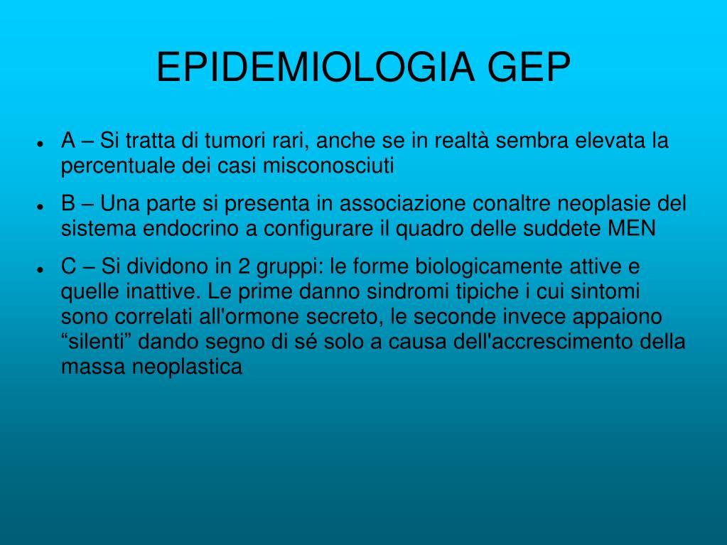 EPIDEMIOLOGIA GEP