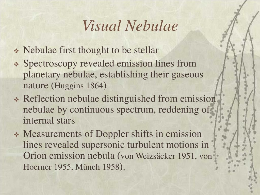 Visual Nebulae