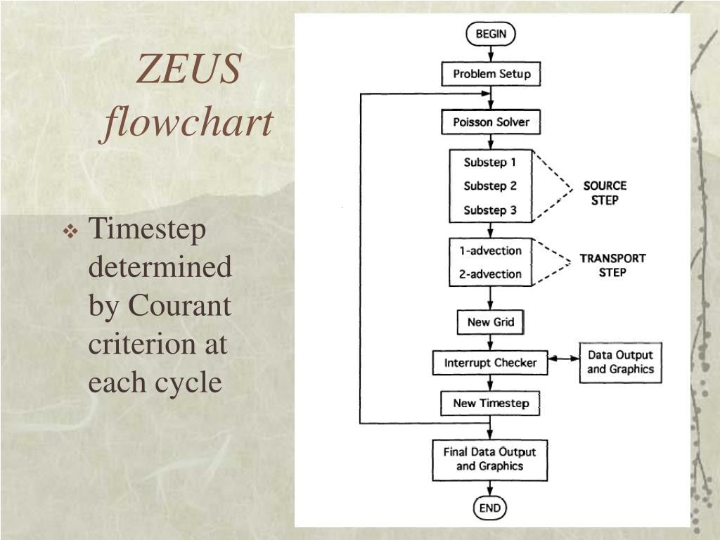 ZEUS flowchart