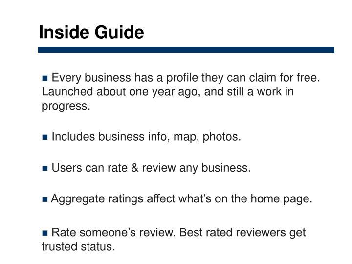 Inside Guide