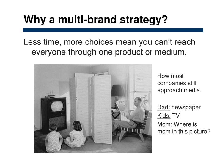 Why a multi-brand strategy?