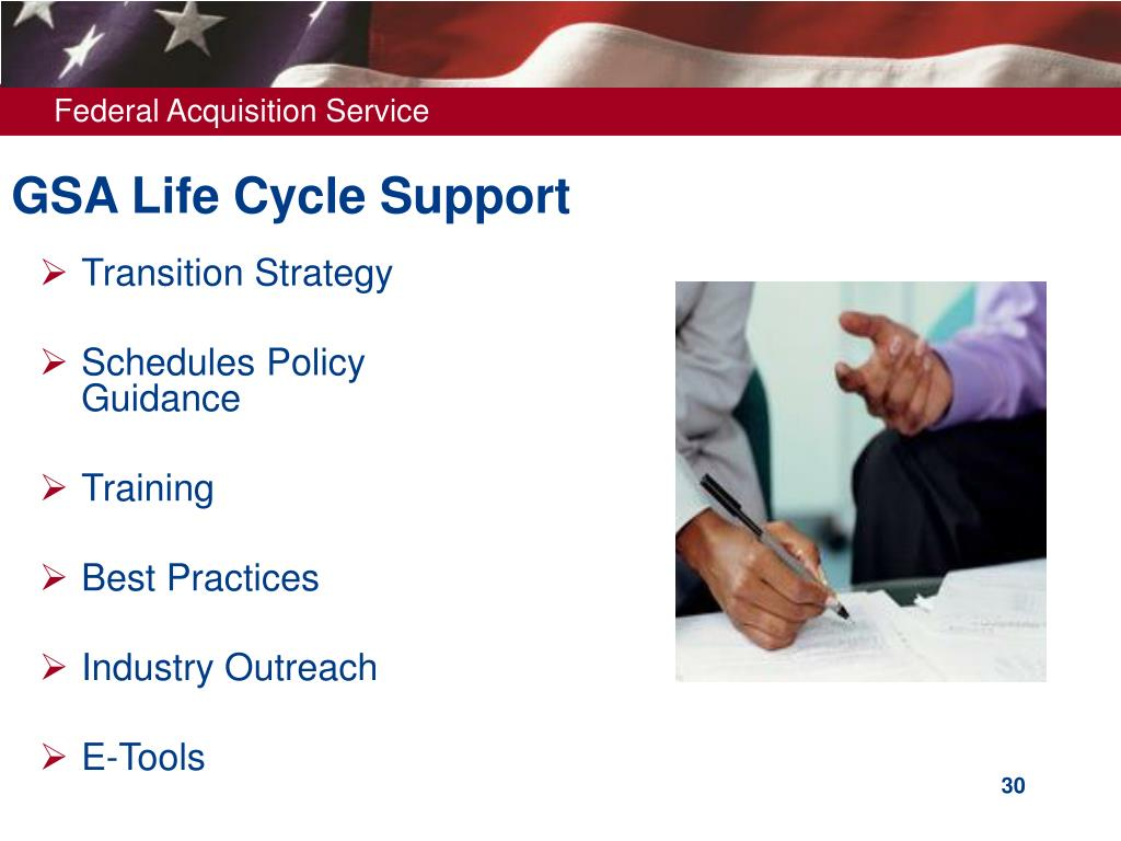 GSA Life Cycle Support
