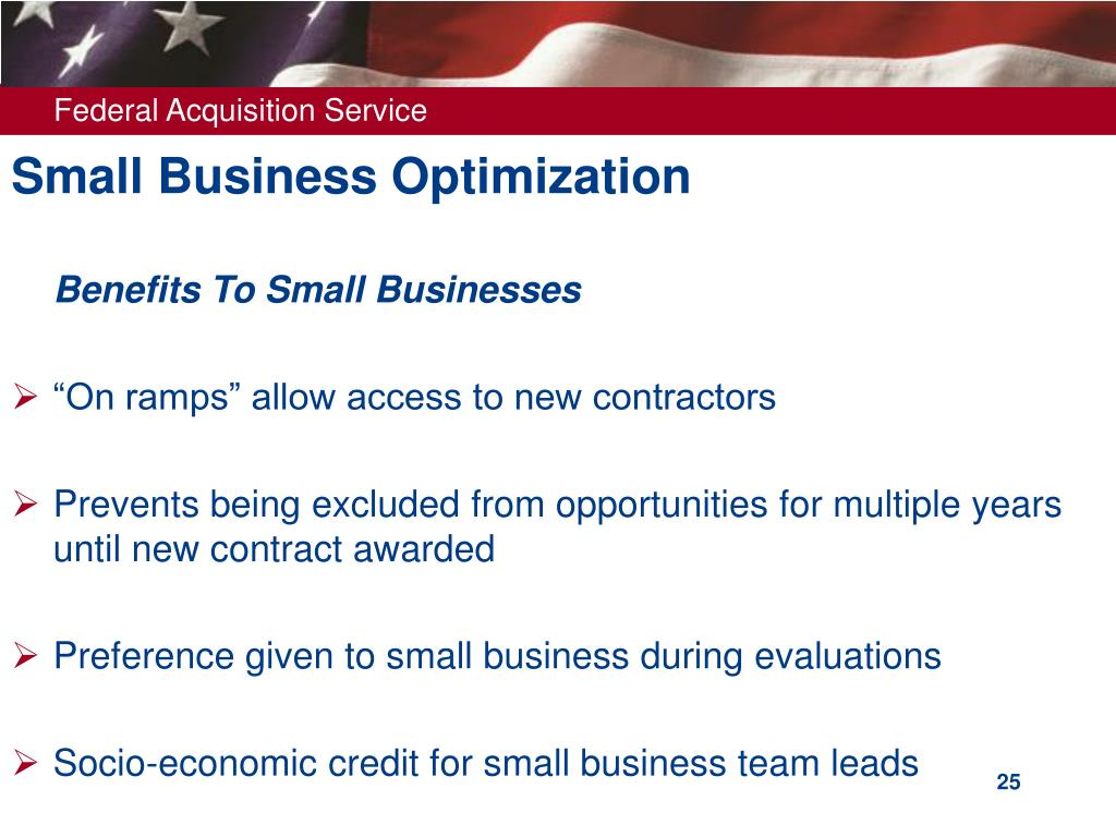 Small Business Optimization