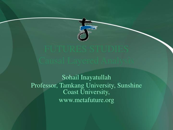 Futures studies causal layered analysis