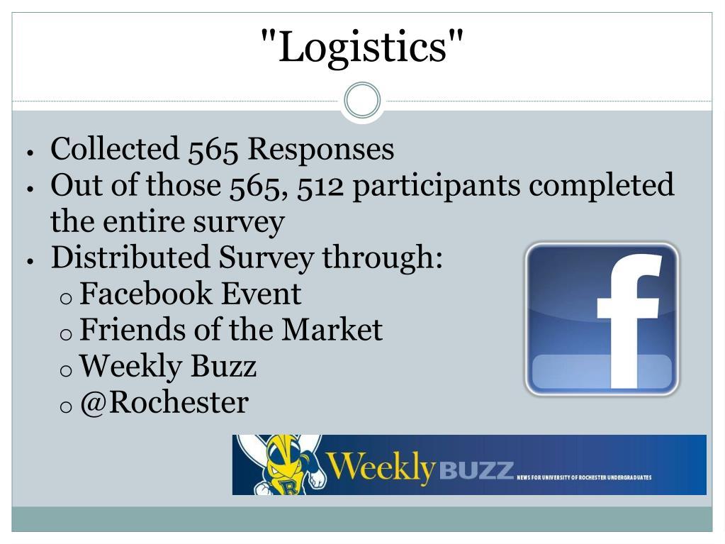 """""""Logistics"""""""