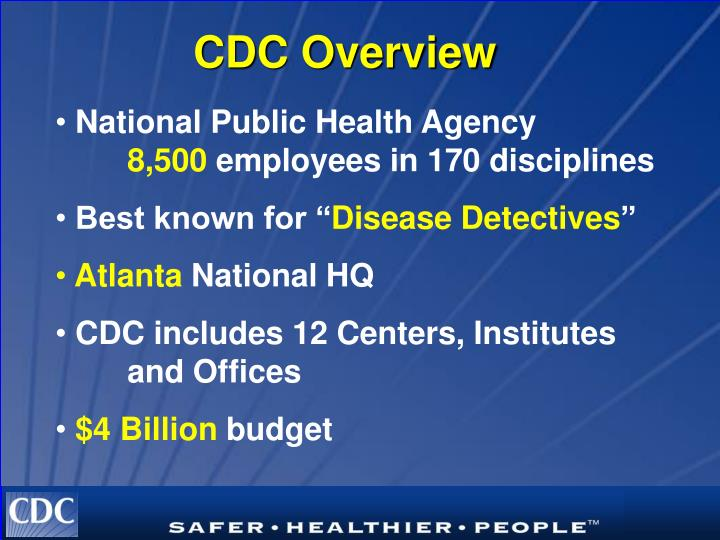 CDC Overview