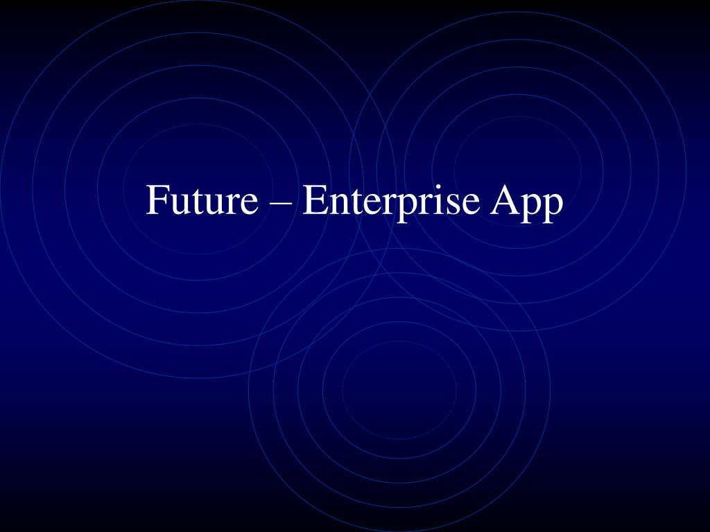 Future – Enterprise App