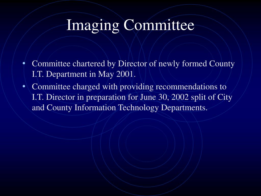 Imaging Committee