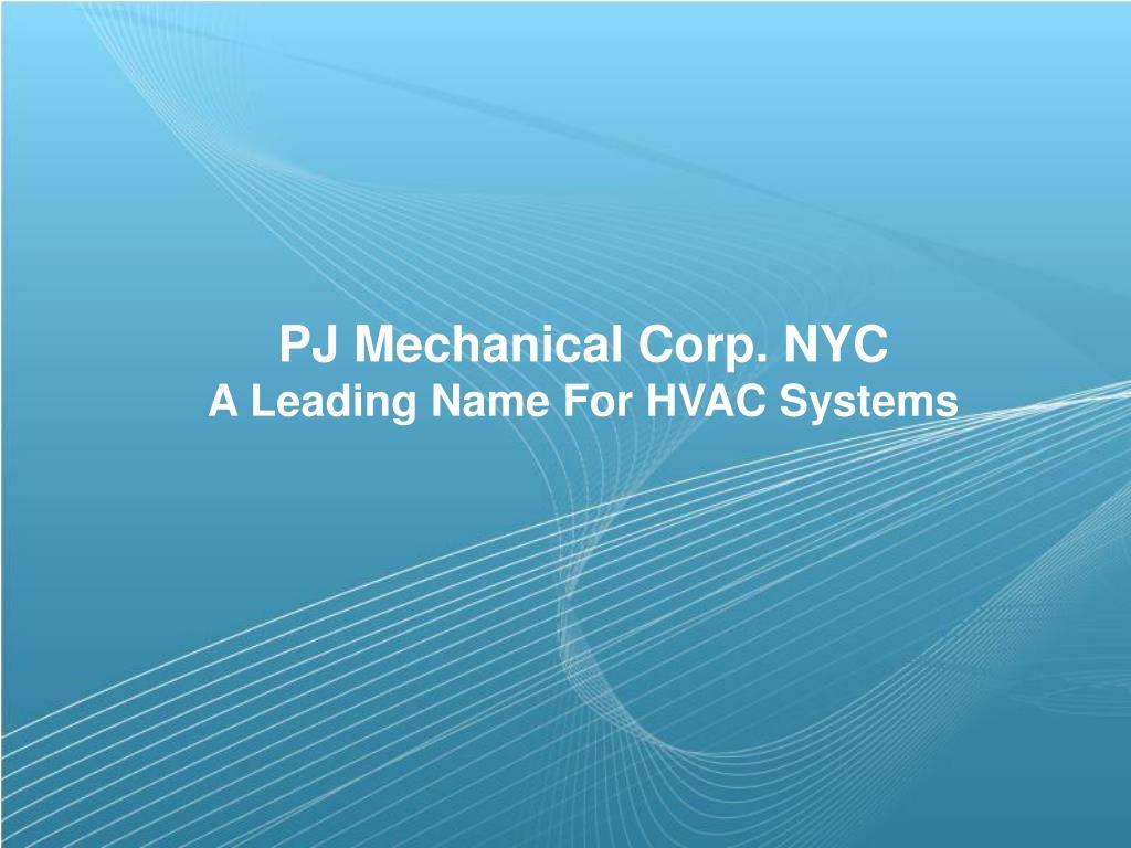PJ Mechanical Corp. NYC