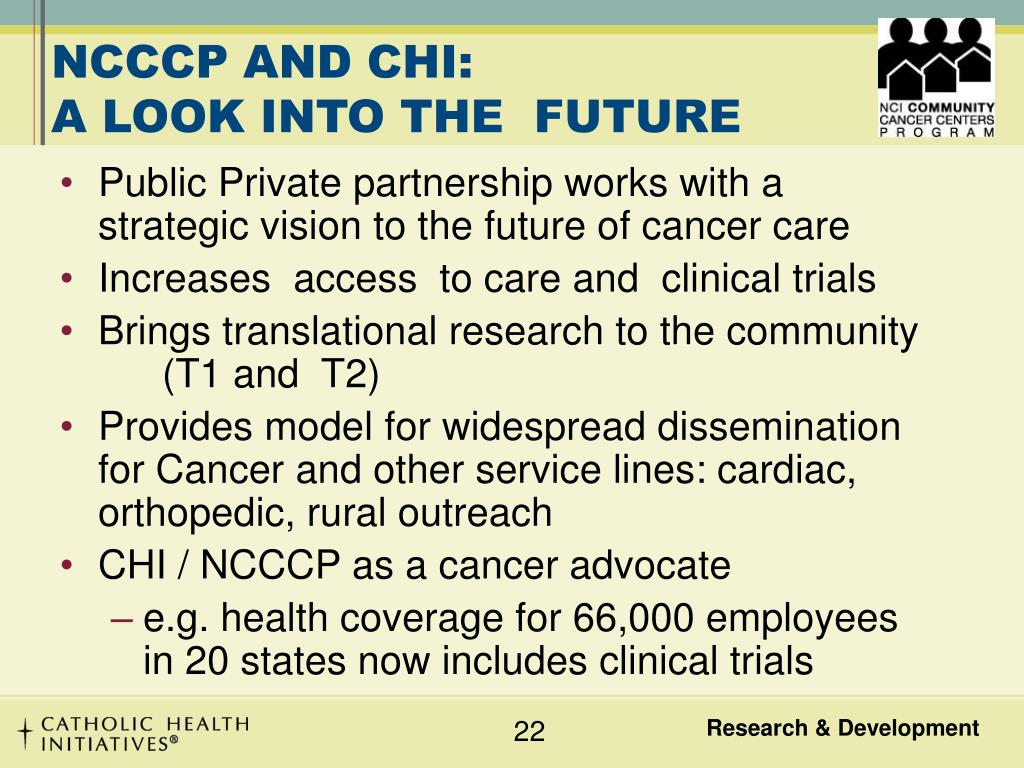 NCCCP AND CHI: