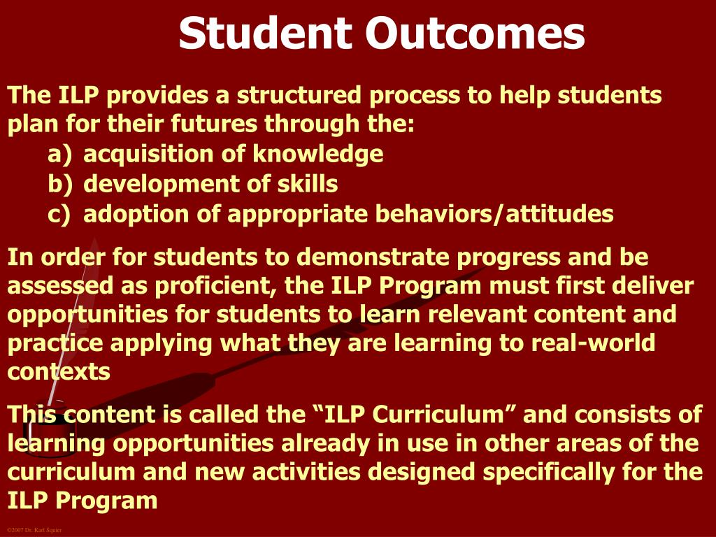 Student Outcomes