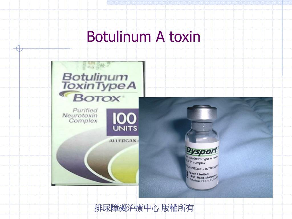 Botulinum A toxin