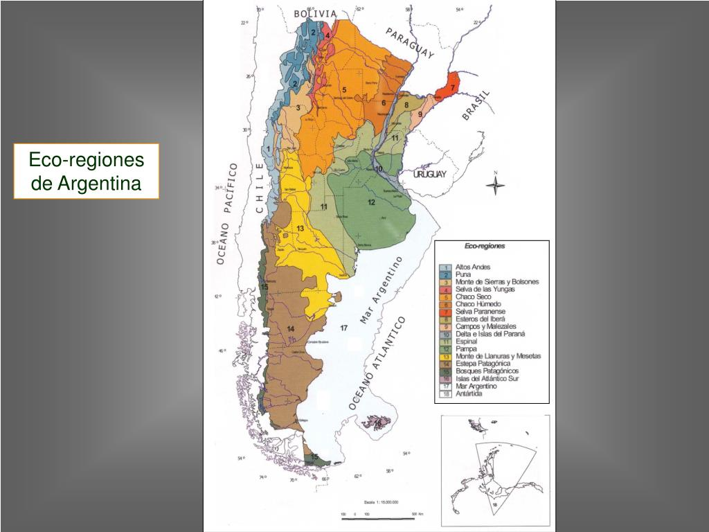 Eco-regiones de Argentina