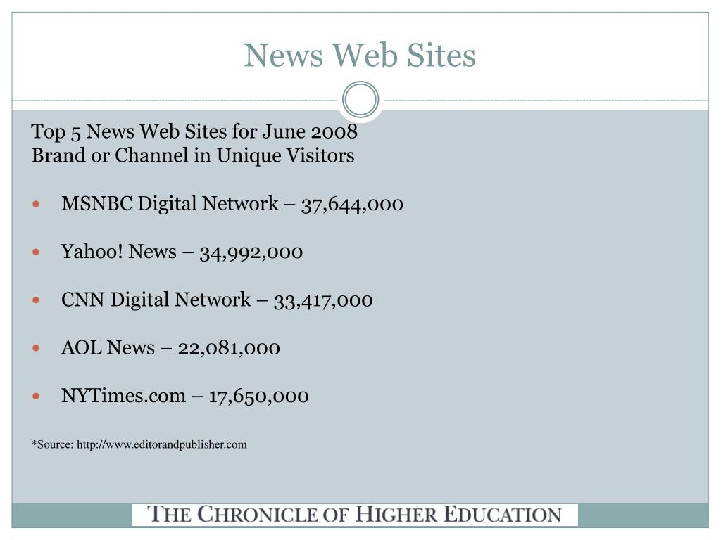 News Web Sites