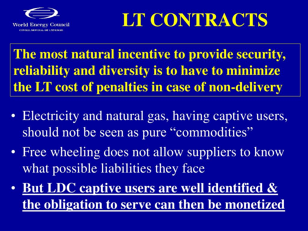 LT CONTRACTS