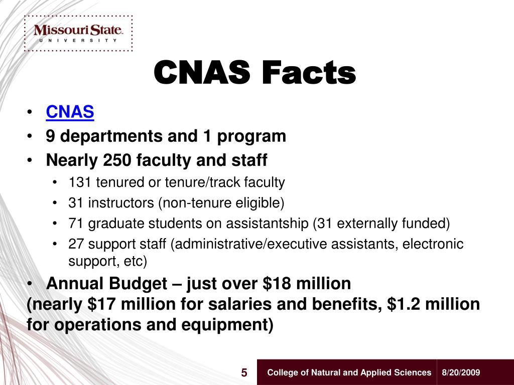CNAS Facts