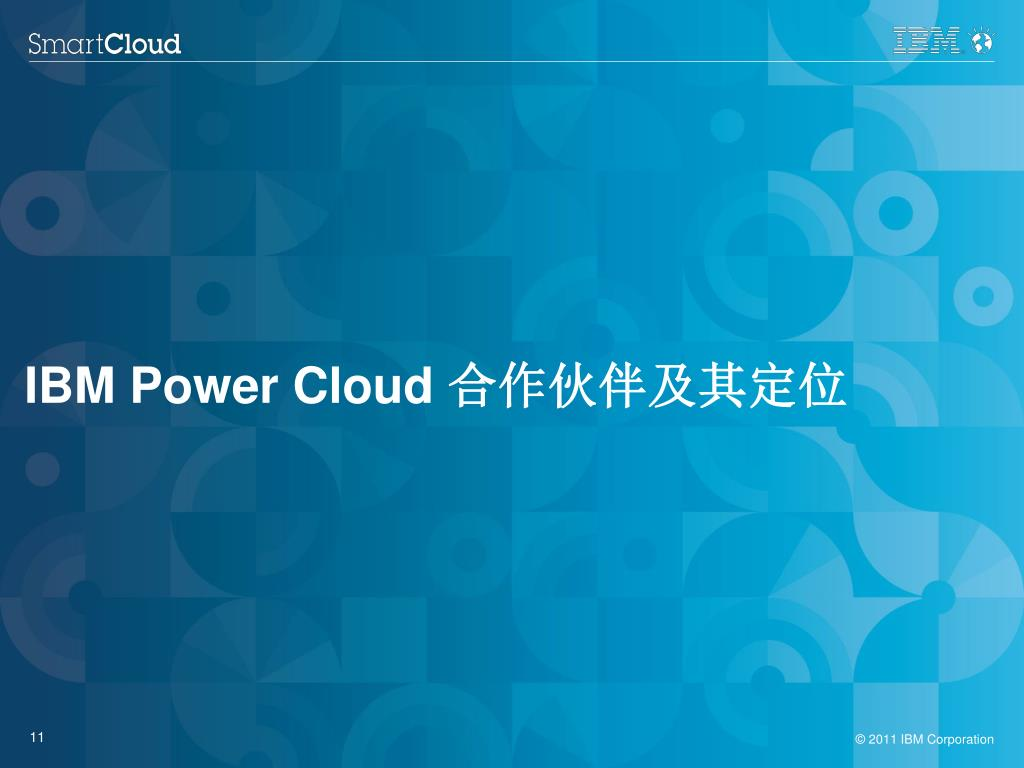IBM Power Cloud 合作伙伴及其定位