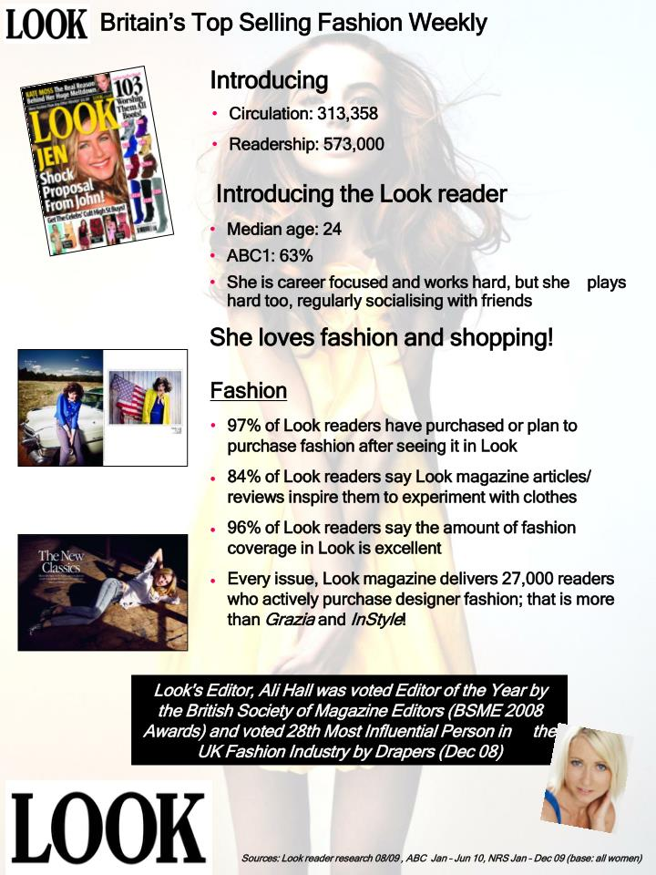 Britain's Top Selling Fashion Weekly