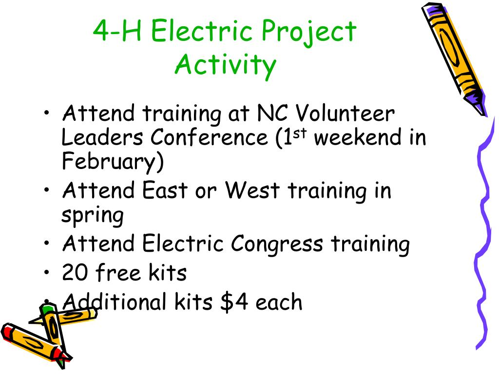 4-H Electric Project Activity