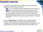 requisition approvals