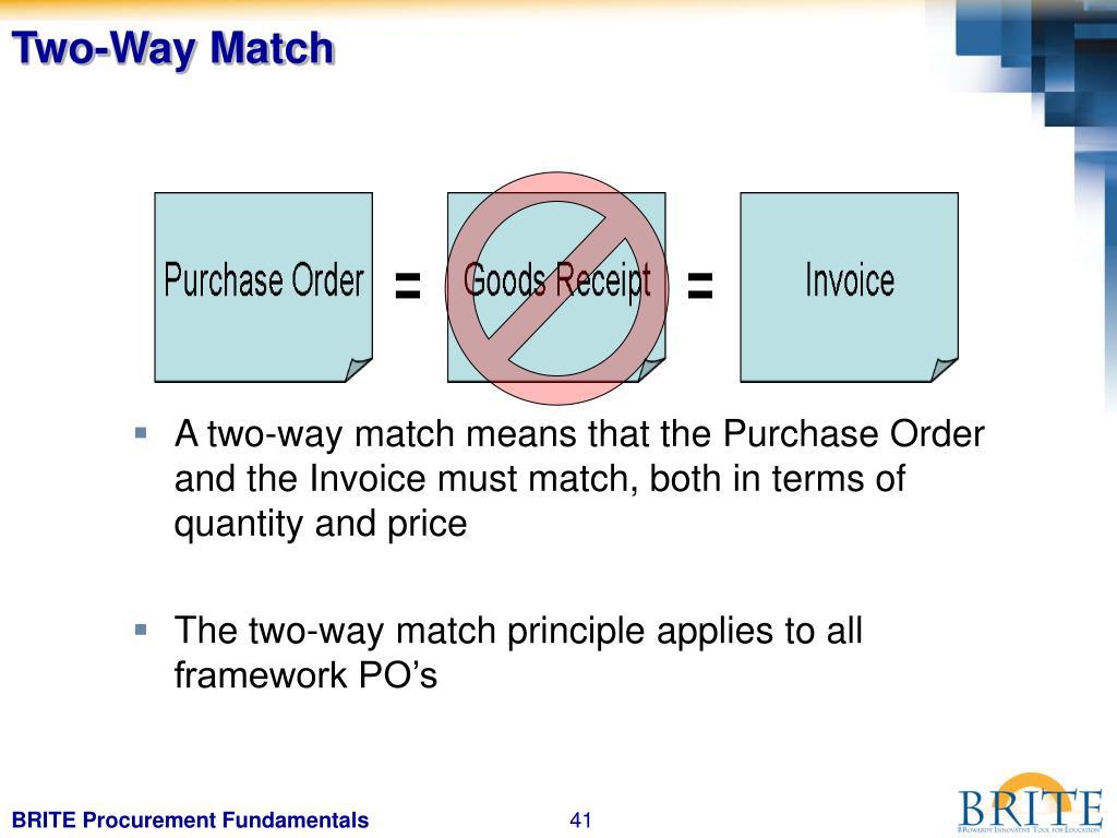Two-Way Match