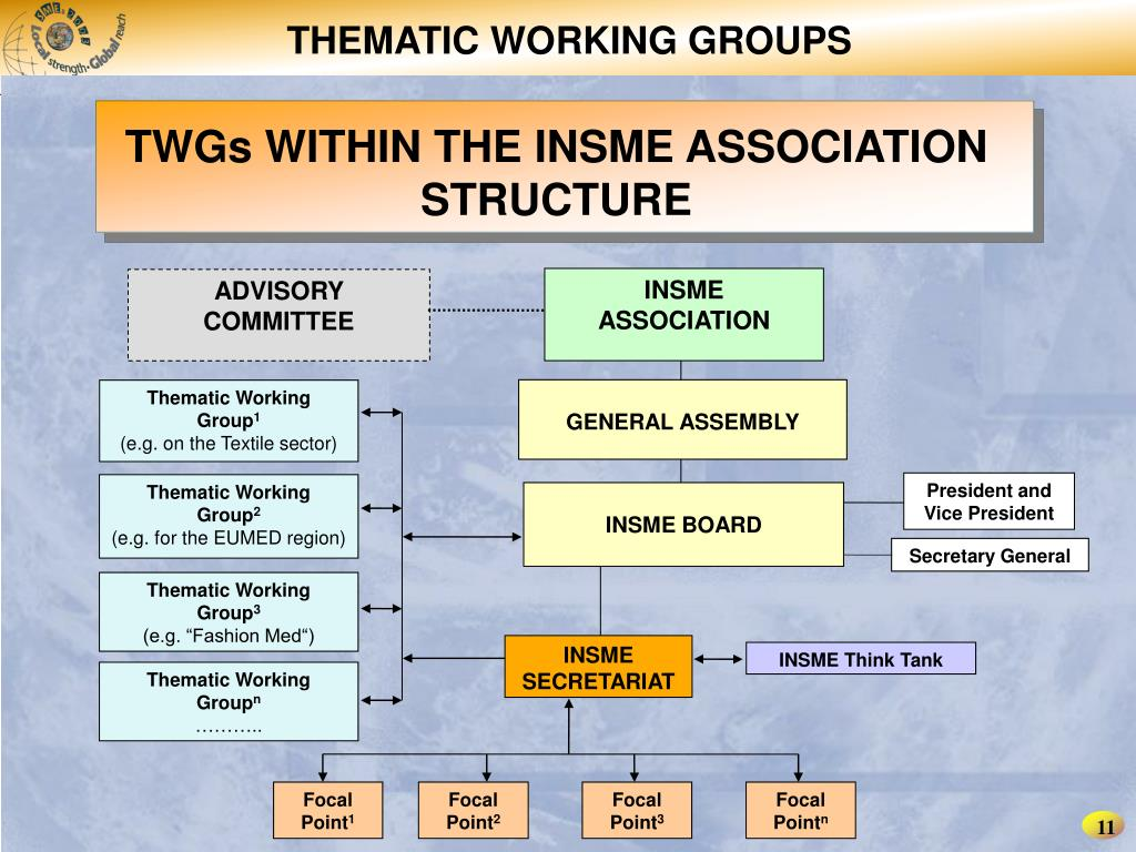 THEMATIC WORKING GROUPS